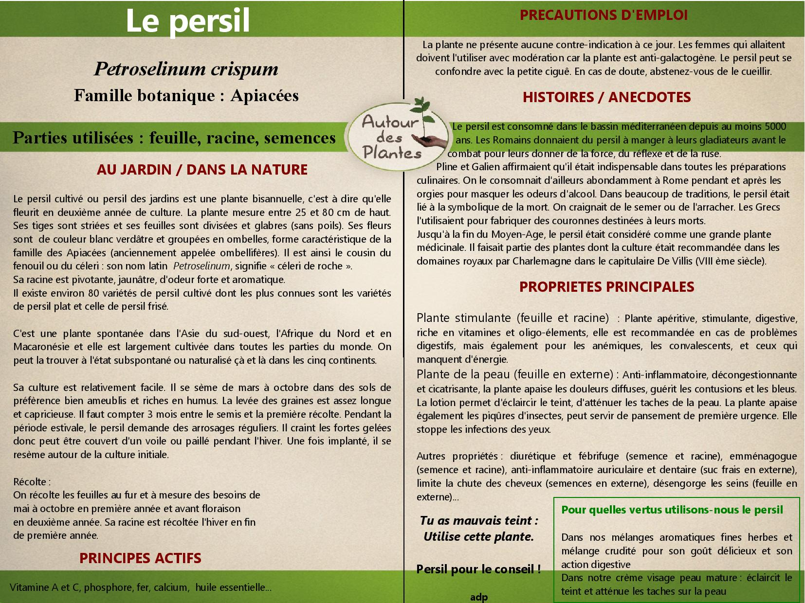 Le persil page 001